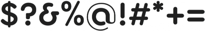 Torus SemiBold otf (600) Font OTHER CHARS