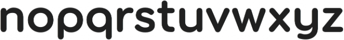 Torus SemiBold otf (600) Font LOWERCASE