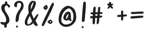 Totally Terrific Typeface Regular otf (400) Font OTHER CHARS