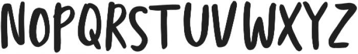 Totally Terrific Typeface Regular otf (400) Font UPPERCASE