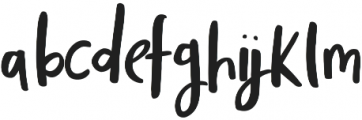 Totally Terrific Typeface Two Regular otf (400) Font LOWERCASE