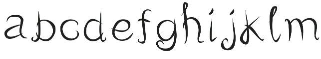TotallyFree Regular otf (400) Font LOWERCASE