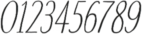 Touch Tone Light Italic otf (300) Font OTHER CHARS