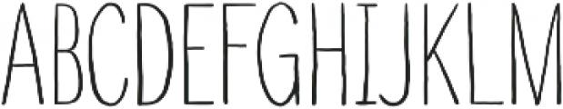 Touch Tone Light otf (300) Font UPPERCASE