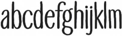 Touch Tone Medium otf (500) Font LOWERCASE