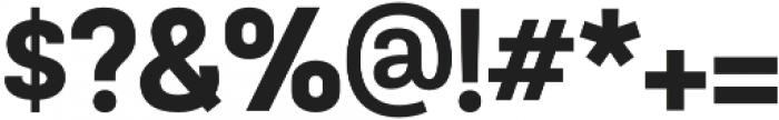TouchMe Sans Black otf (900) Font OTHER CHARS