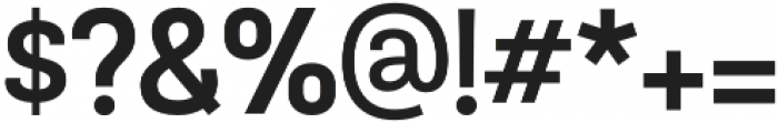 TouchMe Sans Bold otf (700) Font OTHER CHARS