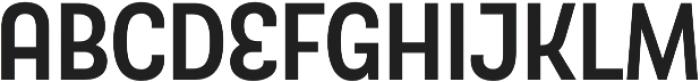 TouchMe Sans Bold otf (700) Font LOWERCASE
