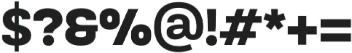 TouchMe Sans Petite Black otf (900) Font OTHER CHARS