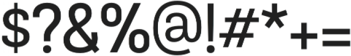 TouchMe Sans SemiBold otf (600) Font OTHER CHARS