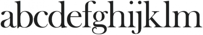Tough Regular otf (400) Font LOWERCASE