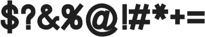 Touka ttf (400) Font OTHER CHARS