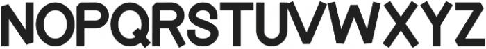 Touka ttf (400) Font LOWERCASE