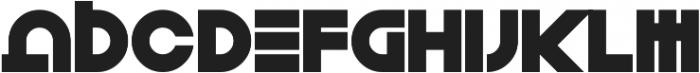 Toxico otf (400) Font LOWERCASE