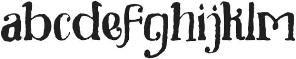 Toxine otf (400) Font LOWERCASE