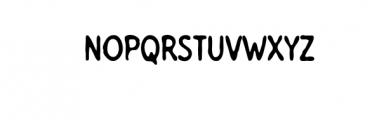 Tomatino.otf Font UPPERCASE