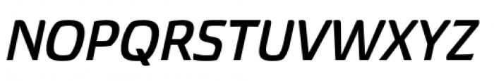 Torcao Extended Bold Italic Font UPPERCASE