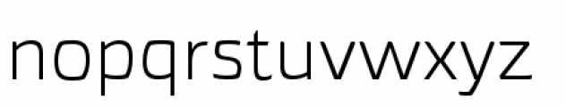 Torcao Extended Book Font LOWERCASE