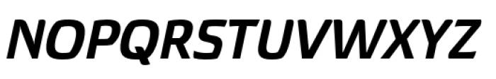 Torcao Extended Ex Bold Italic Font UPPERCASE