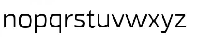 Torcao Extended Regular Font LOWERCASE