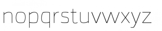 Torcao Extended Thin Font LOWERCASE