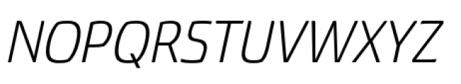 Torcao Normal Book Italic Font UPPERCASE