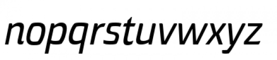 Torcao Normal Demi Italic Font LOWERCASE