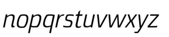 Torcao Normal Regular Italic Font LOWERCASE