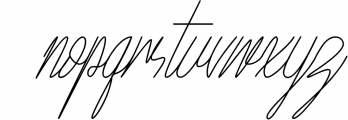 Town Hill Font LOWERCASE