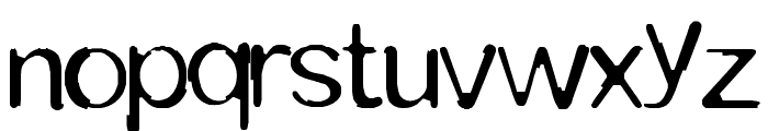 TOMMYTXTEY#4 Font LOWERCASE