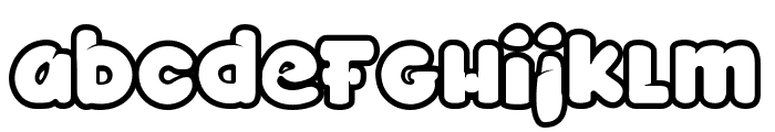 TOYZARUX Font LOWERCASE