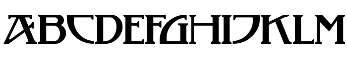 TobaccoRoadNF Font UPPERCASE