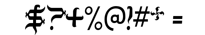 TobinTax-Regular Font OTHER CHARS