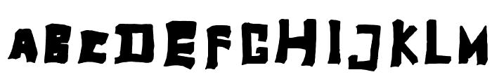 TobyFont-Fullreduced Font UPPERCASE