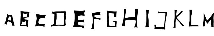TobyFont Inside Font UPPERCASE