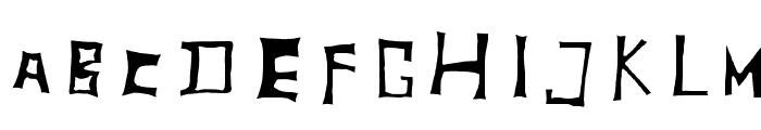 TobyFont Inside Font LOWERCASE