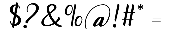 Togetha Font OTHER CHARS