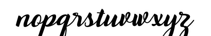 Togetha Font LOWERCASE