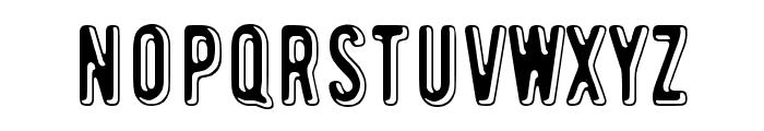 Toinen tammikuu Font UPPERCASE