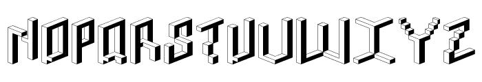 Toit-RegularA Font UPPERCASE