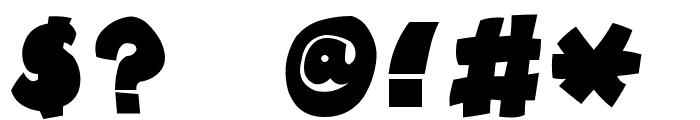 Tokkan-Kouji Font OTHER CHARS