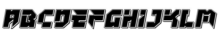 Tokyo Drifter Punch Font UPPERCASE