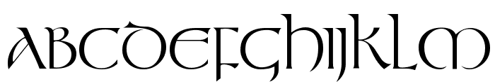 Tolkien Regular Font UPPERCASE