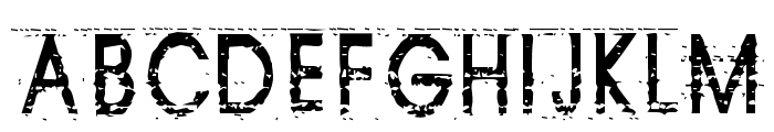 Tom Violence [AUTOSPACED] Font UPPERCASE