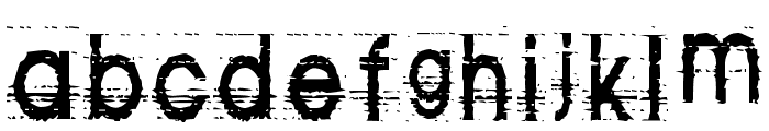 Tom Violence [AUTOSPACED] Font LOWERCASE