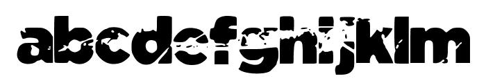 Tomb_Raider Font LOWERCASE