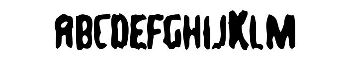 TommyGun Font UPPERCASE
