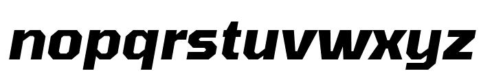 Tomorrow Bold Italic Font LOWERCASE