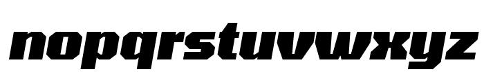Tomorrow ExtraBold Italic Font LOWERCASE