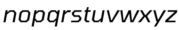 Tomorrow Italic Font LOWERCASE